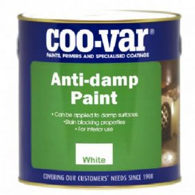 Coo-Var Anti-Damp Paint | Damp Proof Coating |  paints4trade.com